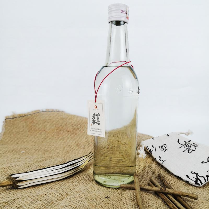 石家庄富裕老窖酒38度420ml光瓶